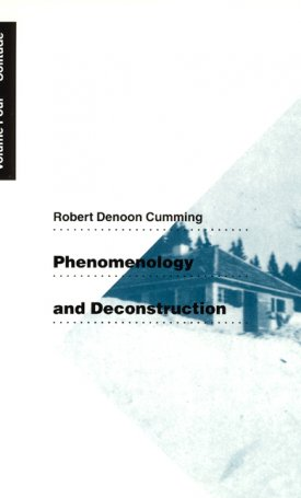 Phenomenology and Deconstruction Vol 4. Solitude