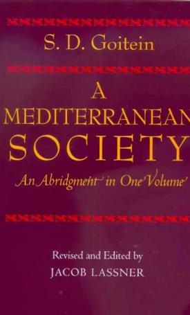 A Mediterranean Society - An Abridgement in One Volume