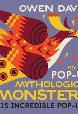 My first pop-up Mythological Monsters