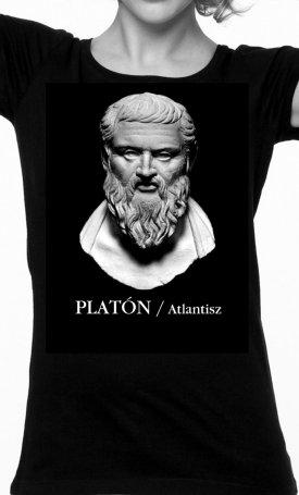 Atlantisz-póló - Platón - női L