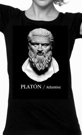 Atlantisz-póló - Platón - női M