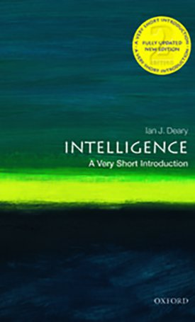 Intelligence - A Very Short Introduction