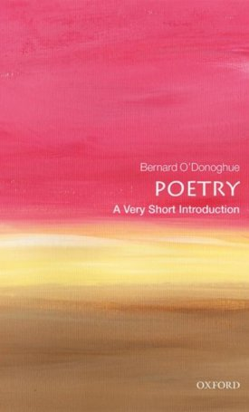 Poetry - A Very Short Indtroduction