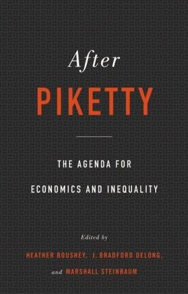 After Piketty - The Agenda for Economics and Inequality