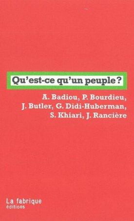 Qu`est-ce qu`un peuple?