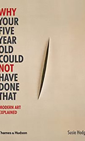 Why Your Five Year Old Could Not Have Done That - Modern Art Explained