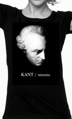 Atlantisz-póló - Kant - női M