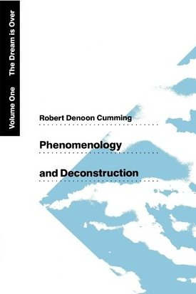 Phenomenology and Deconstruction Vol 1. The Dream is Over
