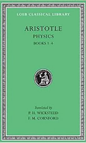 Aristotle IV: The Physics - Books I-IV. - L228