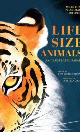 Life-size animals - an illustrated safari
