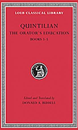 The Orator`s Education - Volume II: Books 3-5 - L125
