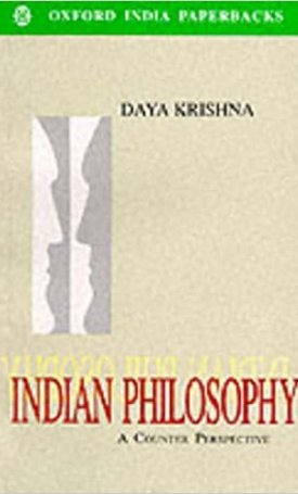 Indian Philosophy - A Counter Perspective