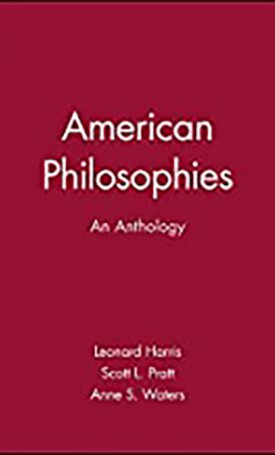 American Philosophies - An Anthology