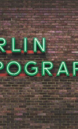 Berlin Typography -  A Visual Stroll Through the City, Street Signs & Storefronts