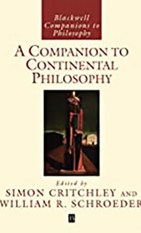 Companion to Continental Philosophy, A