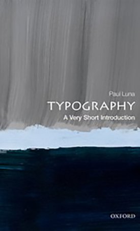 Typography - Very Short Introduction