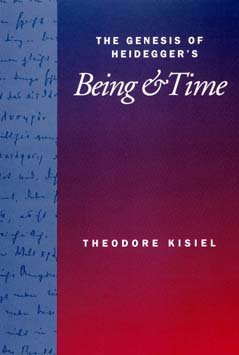 The Genesis of Heidegger`s Being and Time
