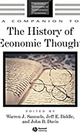 Companion to the History of Economic Thought, A
