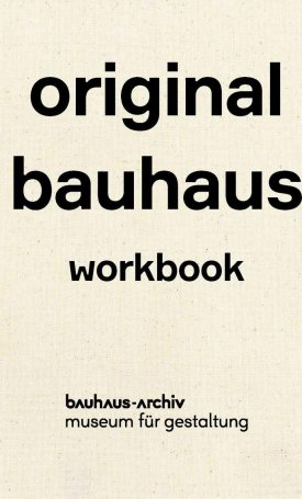Original bauhaus workbook
